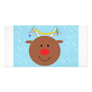 Rudy the Reindeer Card