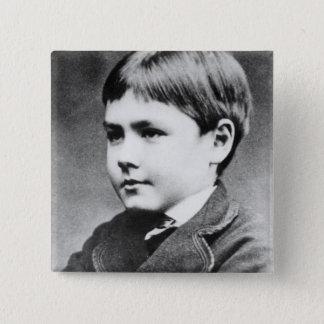 Rudyard Kipling, c.1870 Button