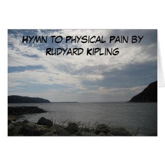 Rudyard Kipling poetry on a Canadian Landscape Card