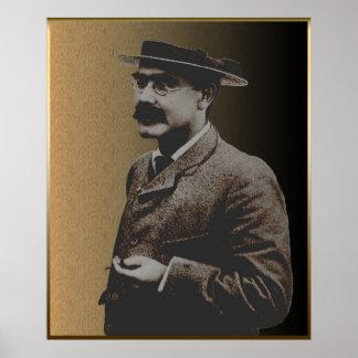 Rudyard Kipling Póster