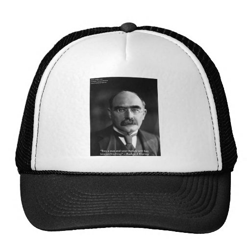 "Rudyard Kipling ""Puppy Love"" Quote Gifts Tees Etc Trucker Hat"