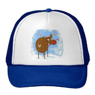 Rudy's Candy Cane Cap Hat