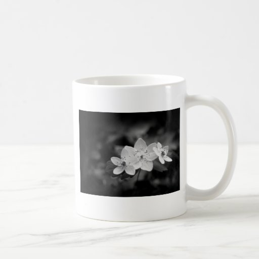 Rue Anemone Classic White Coffee Mug