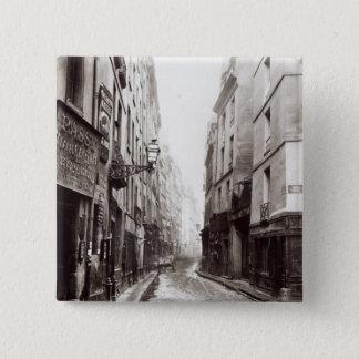 Rue Aumaire, from the Rue Volta, Paris, 1858-78 Button