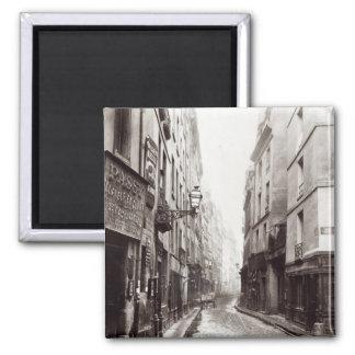 Rue Aumaire, from the Rue Volta, Paris, 1858-78 Magnet