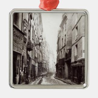 Rue Aumaire, from the Rue Volta, Paris, 1858-78 Metal Ornament