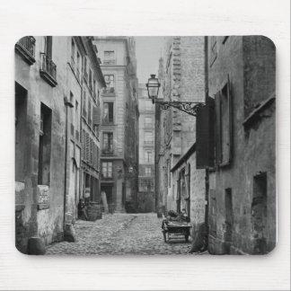 Rue Basse des Ursins, Paris, 1858-78 Mouse Pad