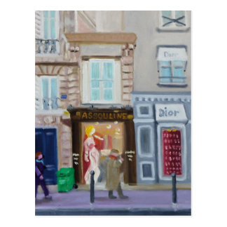 RUE BONAPARTE:  PARIS 75006 POSTCARD