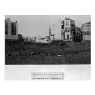 Rue d'Alesia, from rue de la Tombe Issoire, Postcard