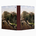 Rue d'Alsace-Lorraine Toulouse France 3 Ring Binder