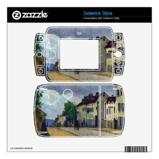 Rue de Gisors by Camille Pissarro Decals For Sidekick Slide