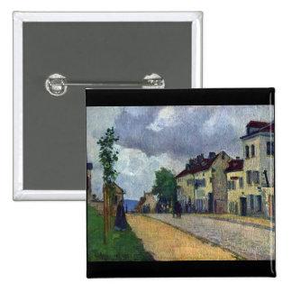 Rue de Gisors de Camille Pissarro Pins