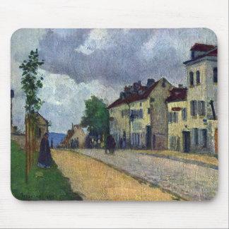 Rue de Gisors de Camille Pissarro Tapetes De Raton