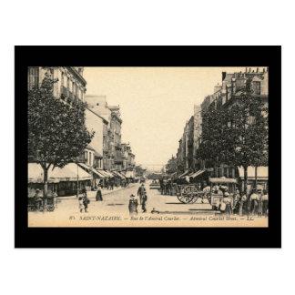 Rue de l' Admiral Courbet, Saint Nazaire, France Postcard