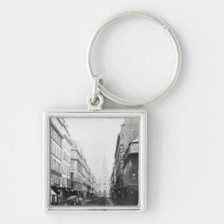 Rue de la Chaussee-d'Antin, París, 1858-78 Llavero