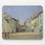 Rue de la Chaussee en Argenteuil, 1872 Tapete De Ratones