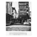 Rue de la Colombe, París, 1858-78 Postales