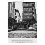 Rue de la Colombe, París, 1858-78 Tarjeta