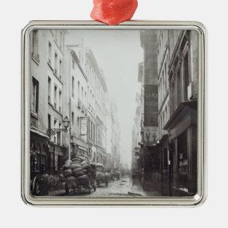 Rue de la Grande Truanderie Metal Ornament