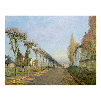 Rue de la Machine, Louveciennes, 1873 Postcard