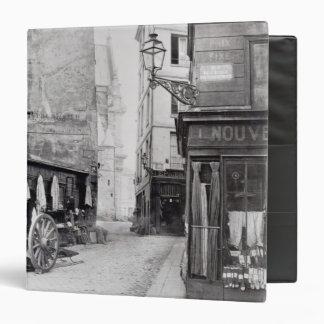 Rue de la Montagne Sainte-Genevieve Binder