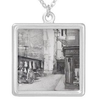 Rue de la Montagne Sainte-Genevieve Colgante Cuadrado