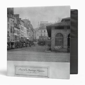 "Rue de la Montagne Sainte-Genevieve, París Carpeta 1 1/2"""