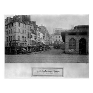 Rue de la Montagne Sainte-Genevieve, Paris Postcard