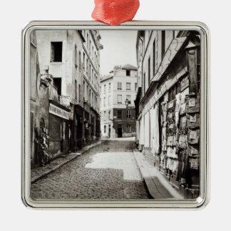 Rue de l'Arbalete Metal Ornament