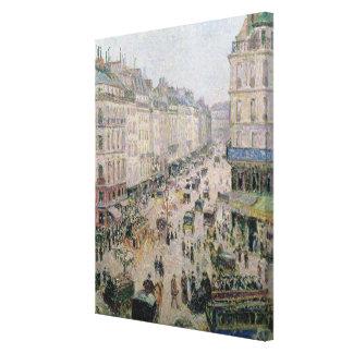 Rue de l'Epicerie, Rouen, on a Sunny Afternoon, 18 Canvas Print