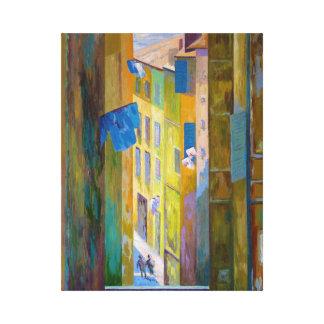 Rue de Marseille Canvas Print