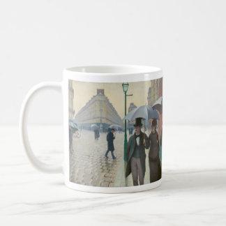 Rue de Paris Temps de Pluie by Gustave Caillebotte Coffee Mug
