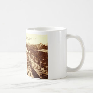 Rue de Rivoli, Paris 1910 Vintage Coffee Mug