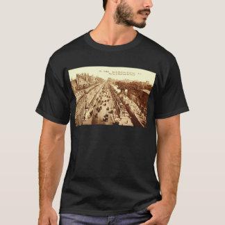 Rue de Rivoli, Paris 1910 Vintage T-Shirt