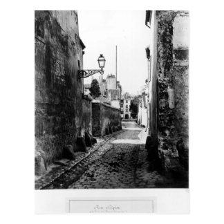 Rue de Scipion Tarjeta Postal