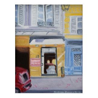 RUE DE SEINE, PARIS 75006 POST CARD