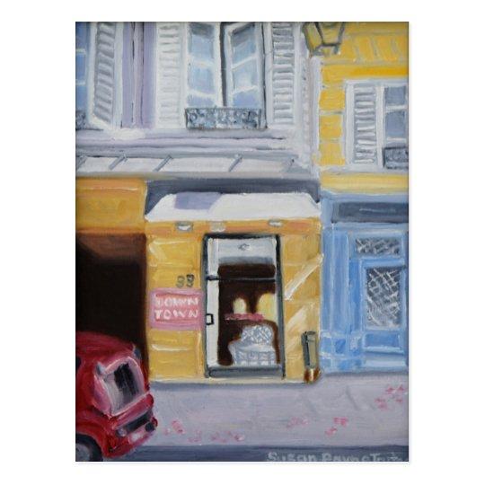 RUE DE SEINE, PARIS 75006 POSTCARD