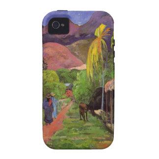 Rue de Tahiti - Gauguin iPhone 4 Case