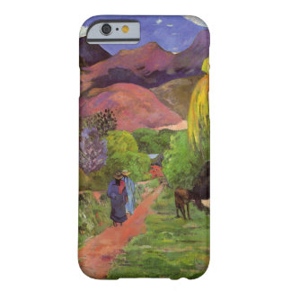 'Rue de Tahiti' - Paul Gauguin Barely There iPhone 6 Case