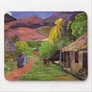 'Rue de Tahiti' - Paul Gauguin Mousepad