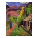 'Rue de Tahiti' - Paul Gauguin Postcard