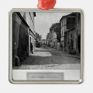 Rue des Anglaises, from rue de Lourcine, Paris Metal Ornament