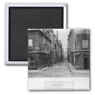 Rue des Bernardins 2 Inch Square Magnet