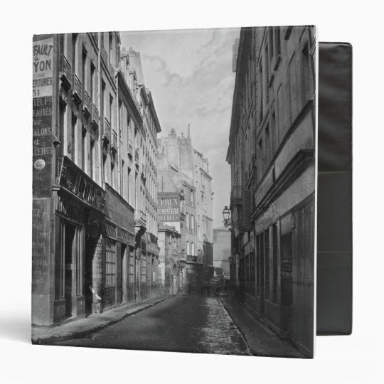Rue des Bourdonnais  Paris 1858-78 Binder