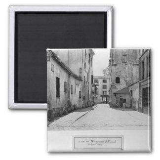 Rue des Marmousets Saint-Marcel 2 Inch Square Magnet