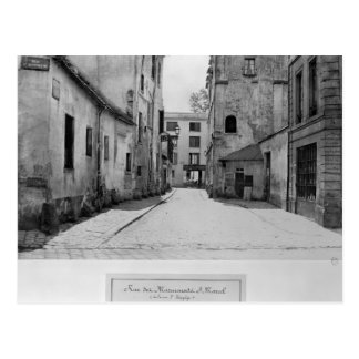 Rue des Marmousets Saint-Marcel Postcard