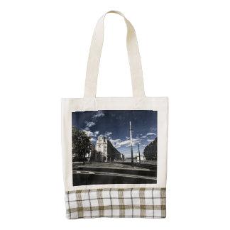 Rue des Moulins in Geneva Zazzle HEART Tote Bag