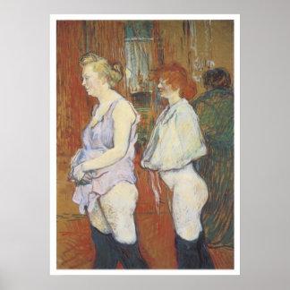 Rue des Moulins: The Medical Inspection, 1894 Poster