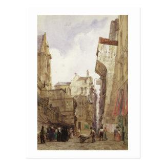 Rue des Pretes, St. Germain L'Auxerrois, Paris Postcard