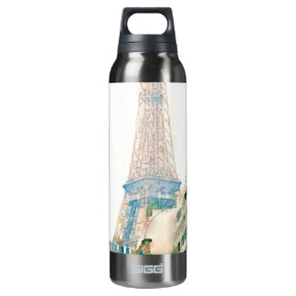 Rue des Reves 16 Oz Insulated SIGG Thermos Water Bottle